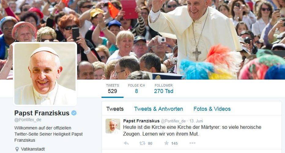 Der Pontifex will den digitalen Teufel austreiben