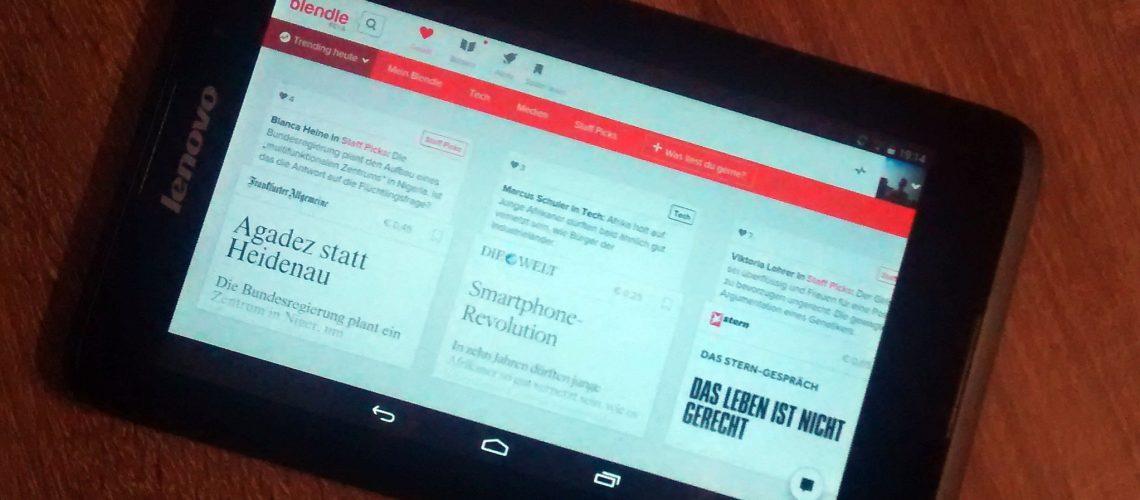 Deutsche Blendle-Beta mit MediaPunk